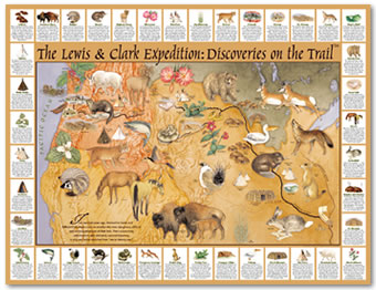 The Lewis & Clark Expedition: Discoveries on The Trail
